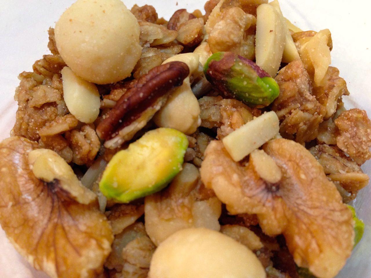 ナッツパラダイス グラノ―ラ * Nuts Paradise Granola 470g