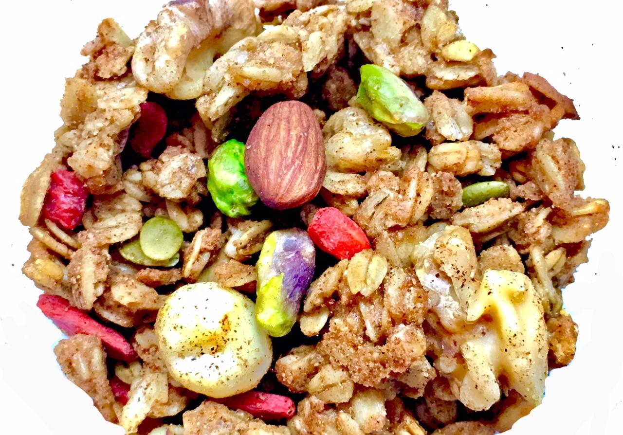 ★プレミアム ナッツ&シナモン グラノーラ * Premium Nuts & Cinnamon Granola 270g