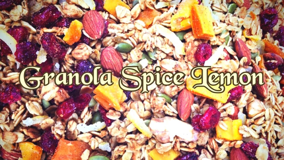 限定 スパイスレモン グラノーラ *Spice Lemon Granola 270g