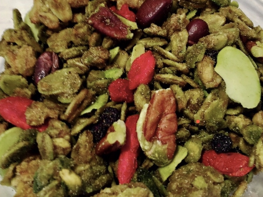 抹茶小豆グラノーラ * Granola Maccha with Red Beans 270g