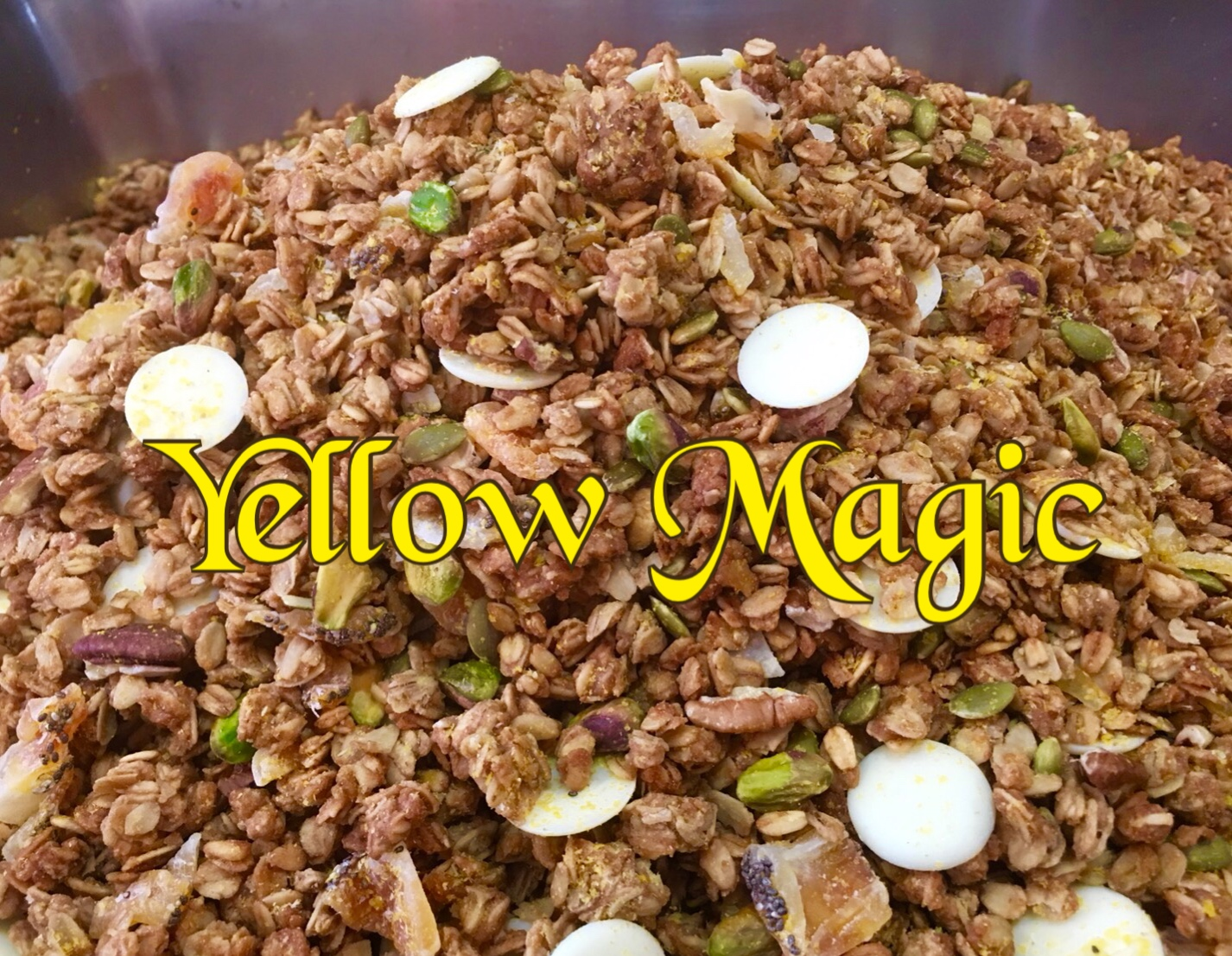 ★イエローマジック グラノーラ *Yellow Magic Granola 270g