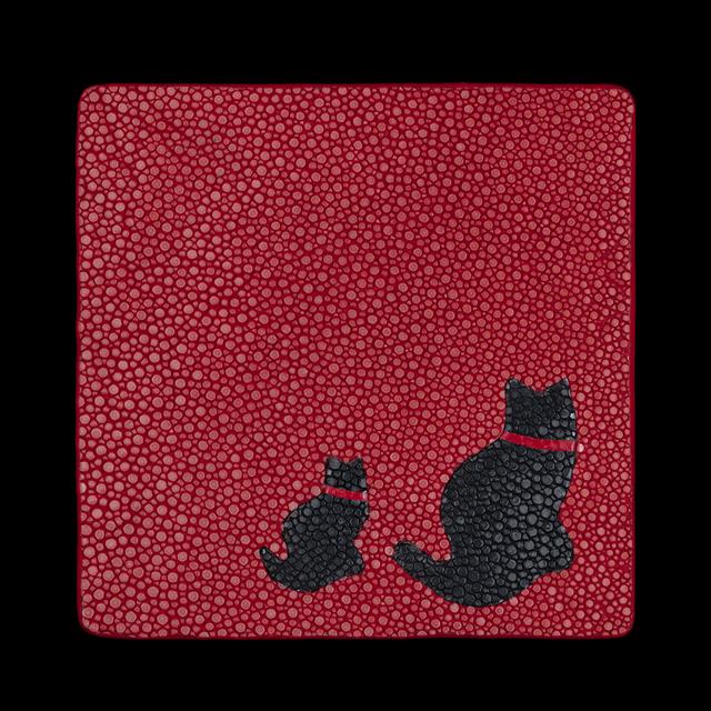 【剛腕】ガルーシャ製コースター / 猫