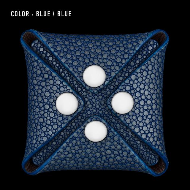 【剛腕】ガルーシャ製 コインケース / ブルー&ブルー