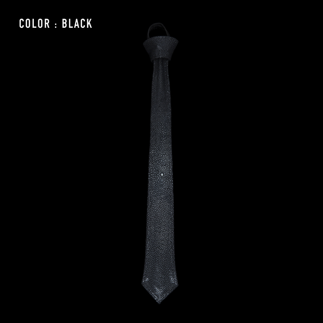 【剛腕】ガルーシャ製 NECK TIE / ブラック