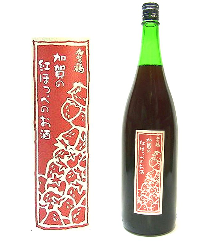 飲食店様 日本酒仕込・加賀紅ほっぺ(いちご)のお酒 1800ml