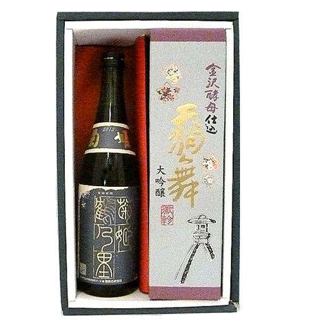 加賀の限定純米酒と大吟醸セット