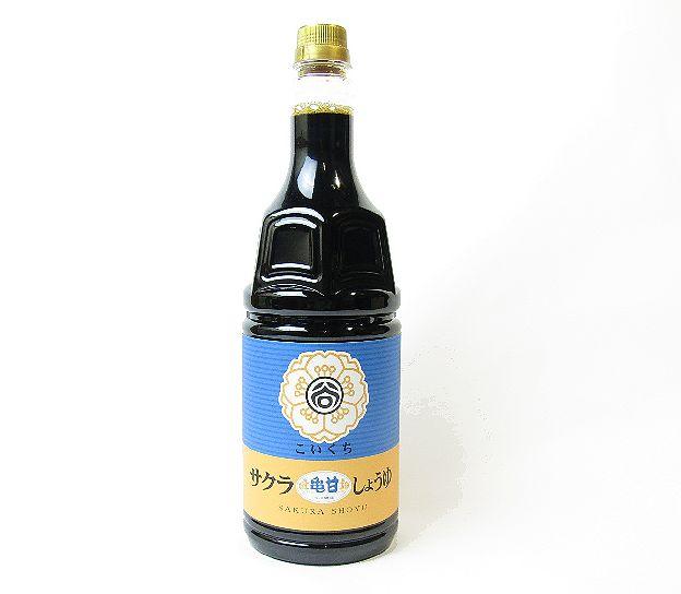 サクラ醤油亀甘口1800ml