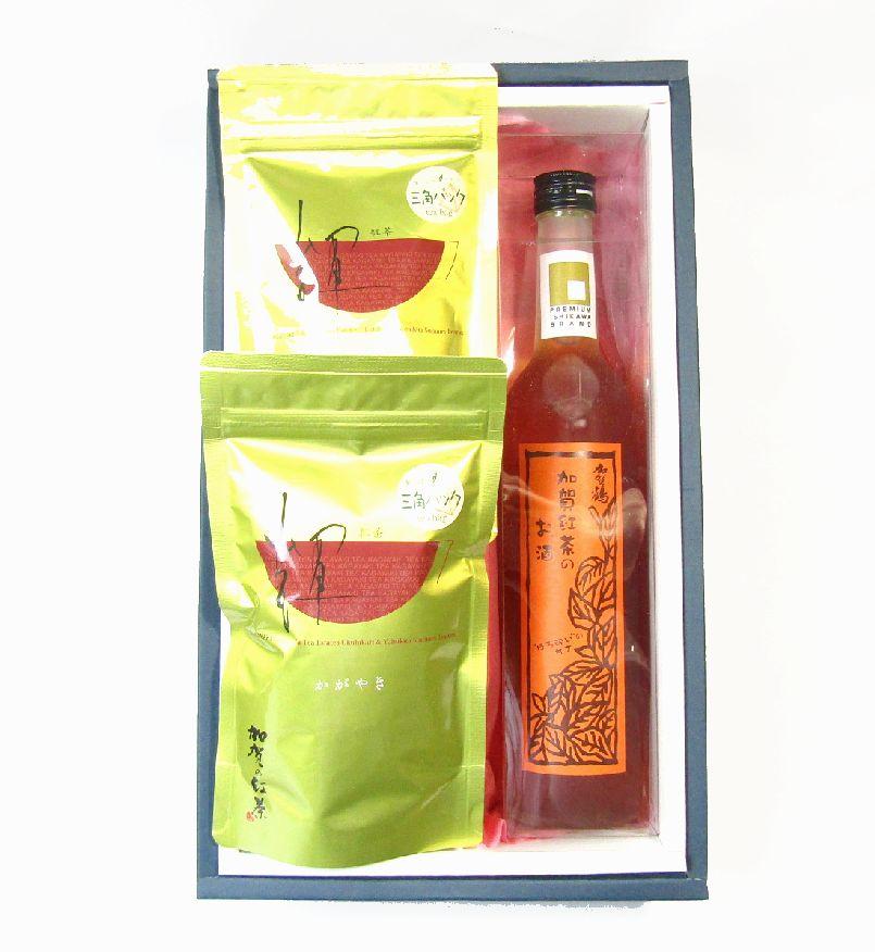 加賀の紅茶と紅茶のお酒