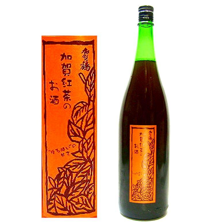 飲食店様限定 加賀の和紅茶で作った【加賀の紅茶のお酒】1800ml