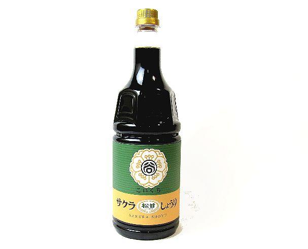 サクラ醤油松甘口1800ml
