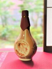 ご予約限定!加賀丸いも焼酎【のみよし】限定九谷焼ボトル 木箱入