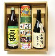 当店人気No1麦・芋焼酎と海鮮缶詰セット