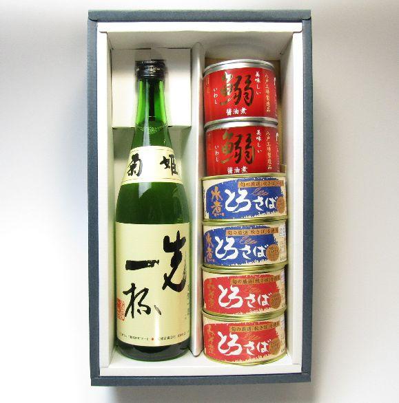 日本酒と缶セット