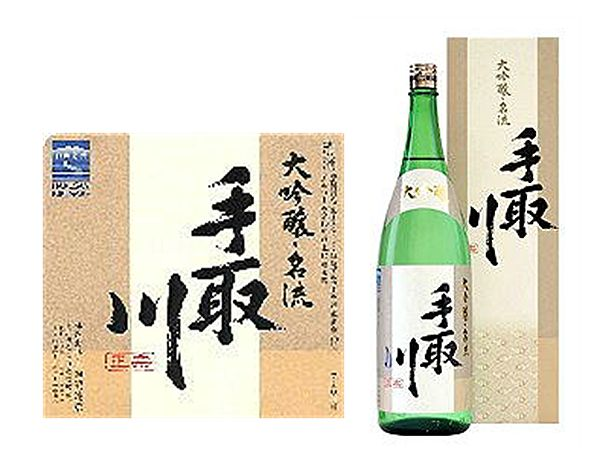 手取川純米大吟醸名流720ml専用カートン入