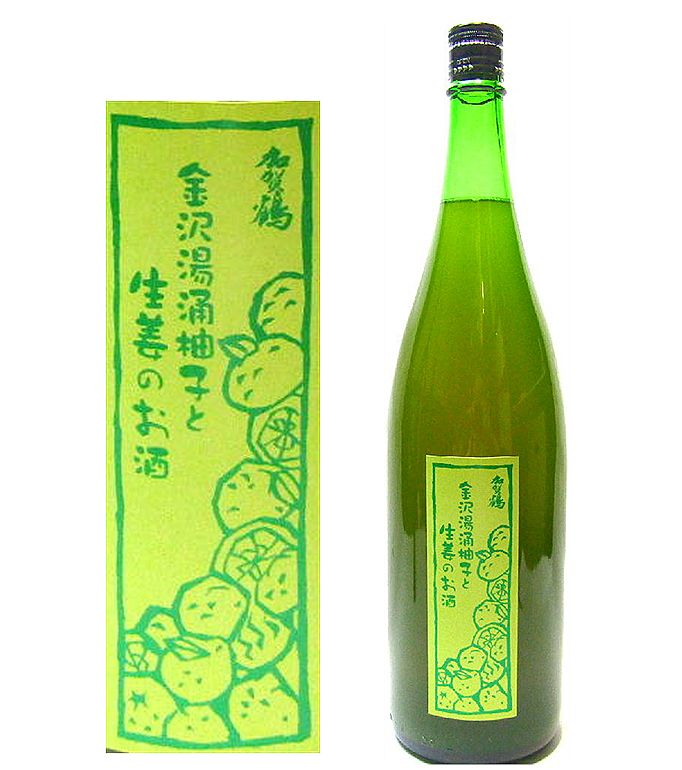 柚子と生姜のお酒1800ml