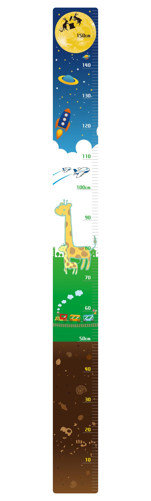身長測定シート
