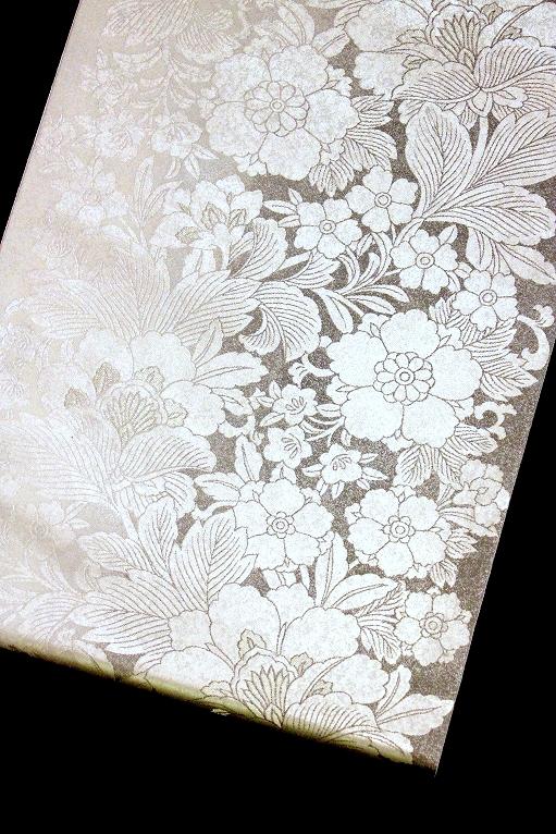 西陣織袋帯/瀞銀錦