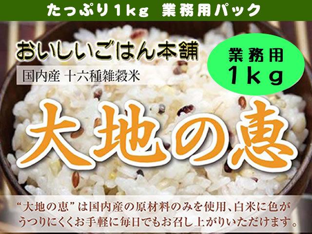 【国内産】ブレンドの達人の業務用十六雑穀米 1kg