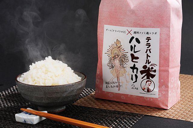 テラバトル米 ハルヒカリ 2kg