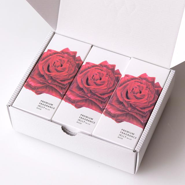 プレミアムフレグランスゼリー 広島県福山産薔薇 12本入x3P