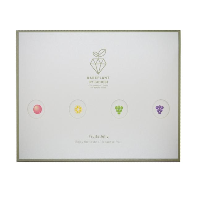 フルーツコラーゲンゼリー 岡山4種セット(5本×4)