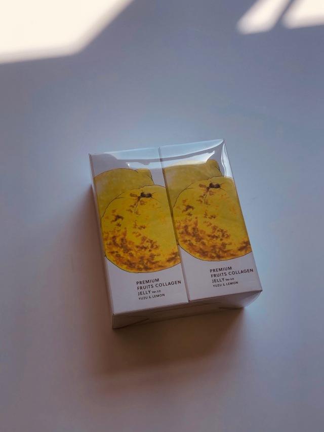 プレミアムフルーツコラーゲンゼリー 岡山県産ゆず&瀬戸内レモン 12本入x2P