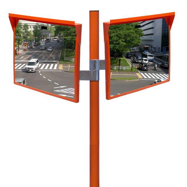 アクリルミラー450×600二面鏡