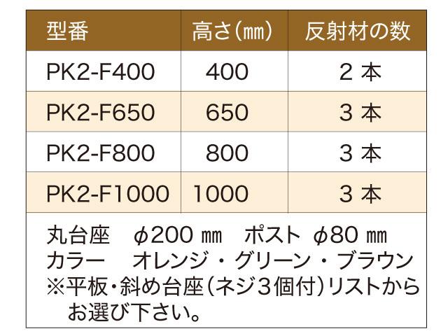 「PK-Ⅱ」スタンダード固定式型式一覧
