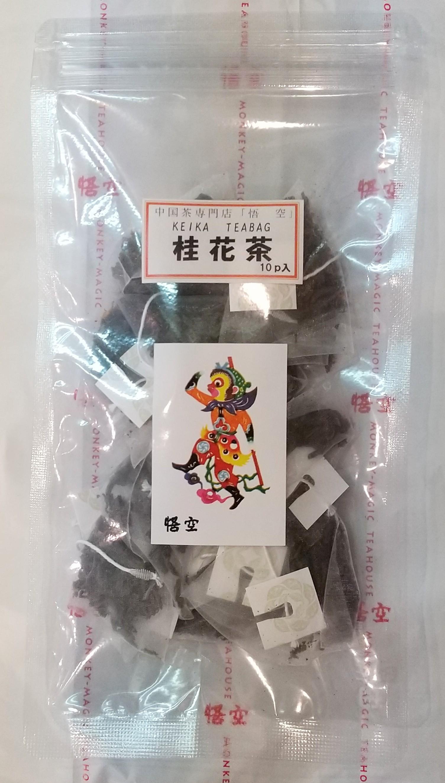 花-900 桂花茶/テトラTea Bag10p けいかちゃ