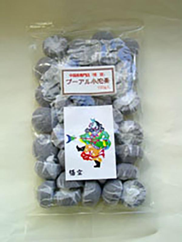 黒-721Aプーアル小沱茶100g ぷーあるしょうだちゃ