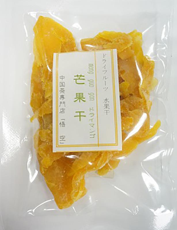 Y-022芒果干50g どらいまんごー
