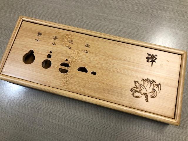 ★ch-001 禅竹茶盤