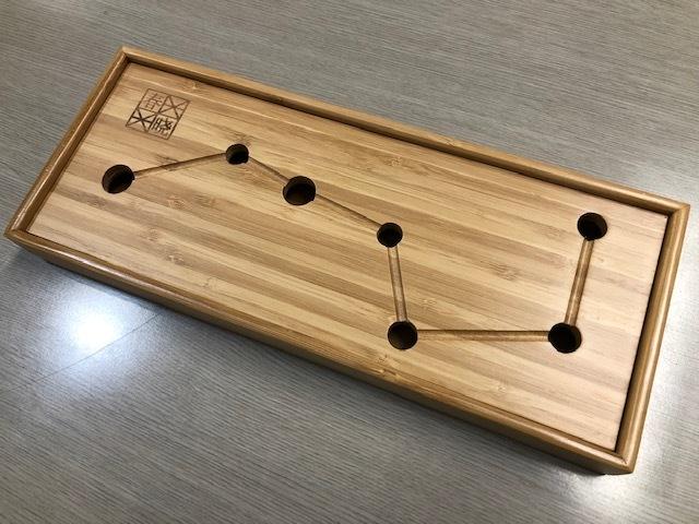 ch-002 七星竹茶盤