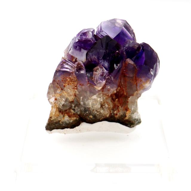 アメジスト クラスター 台付き 紫水晶 置き物 原石 ウルグアイ産 天然石 AAA 1点物 2月 誕生石