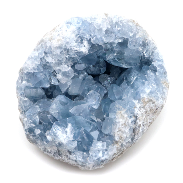 セレスタイト AAA 原石 273g クラスター マダガスカル産 天青石 パワーストーン 天然石