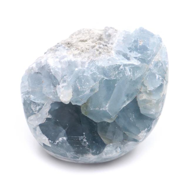 セレスタイト 原石 クラスター 研磨 磨き仕上げ マダガスカル産 1点物 天青石 パワーストーン 天然石