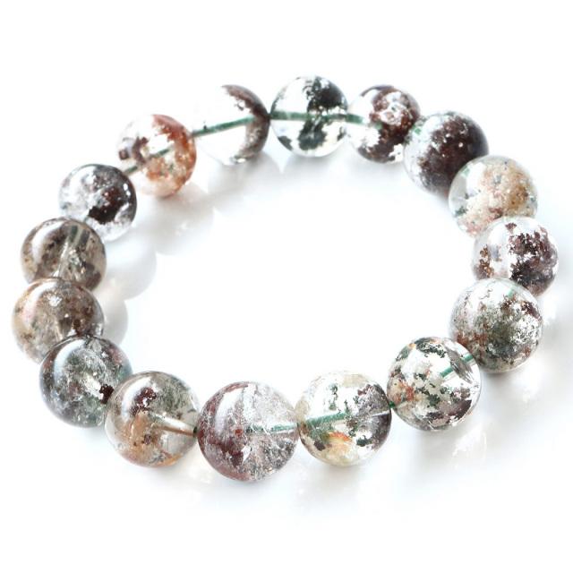 ガーデンクォーツ 庭園水晶 ブレスレット 1点もの パワーストーン 天然石