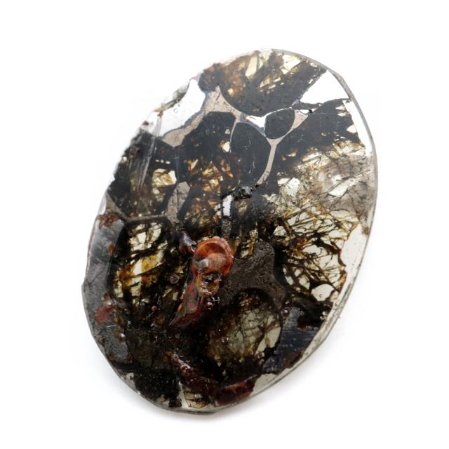 パラサイト隕石 ケニア セリコ産 重量0.8g 隕石標本 パワーストーン 1点物 石鉄隕石