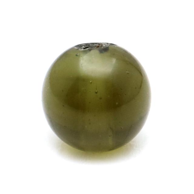 モルダバイト 粒売り 5mm 1粒 天然ガラス 宇宙の神秘 天然石 パワーストーン