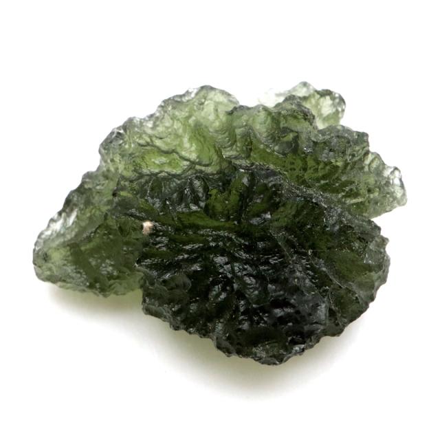 モルダバイト 原石 4.4g 穴無し 天然ガラス 1点物 宇宙の神秘 天然石 パワーストーン