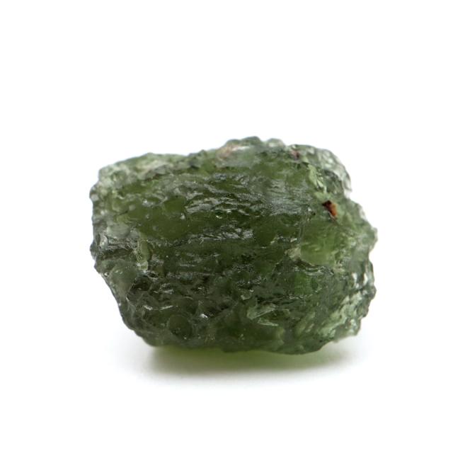 モルダバイト 原石 2.9g 穴無し 天然ガラス 1点物 宇宙の神秘 天然石 パワーストーン