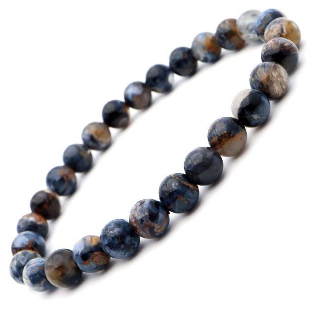 ピーターサイト シリカ ブレスレット 高品質 AAA 南アフリカ産 パワーストーン 天然石 1点もの