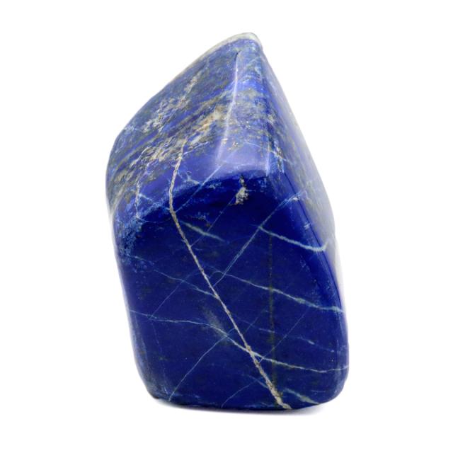 ラピスラズリ 原石 216g アフガニスタン産 天然石 青金石 置物 ラフ