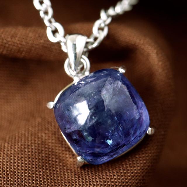 タンザナイト ネックレス レディース Silver925 天然石 パワーストーン 12月 誕生石