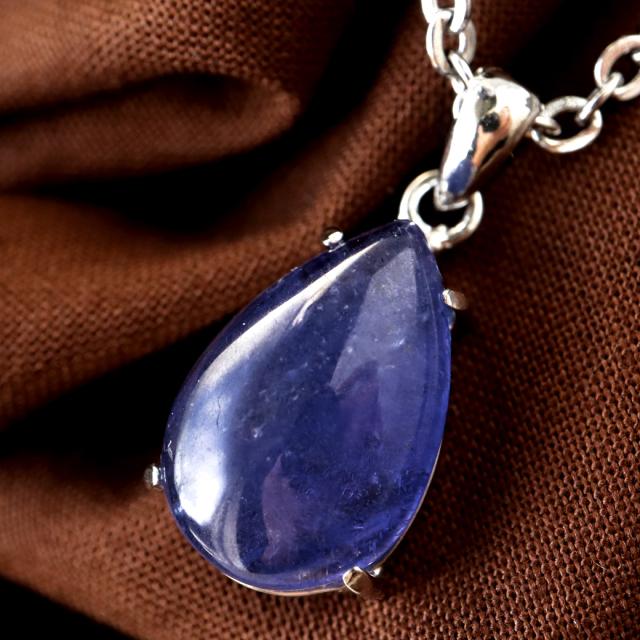 タンザナイト ネックレス AAA レディース Silver925 天然石 パワーストーン 12月 誕生石