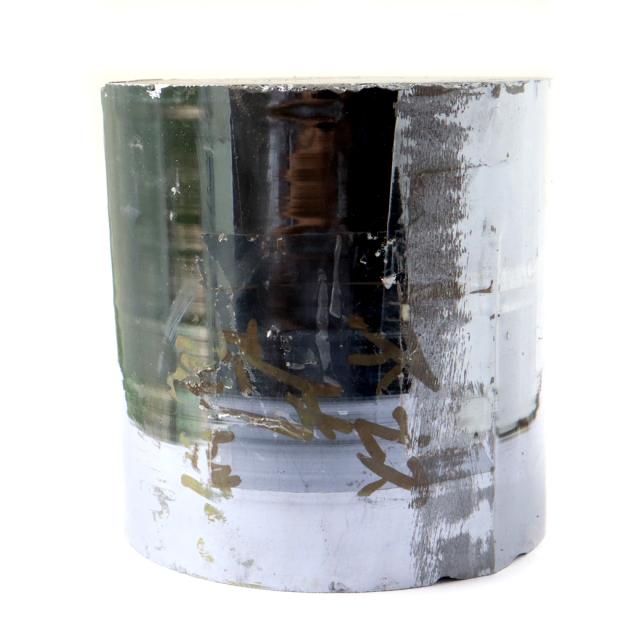 テラヘルツ鉱石 円柱型 純度15N ラフ原石 1点物