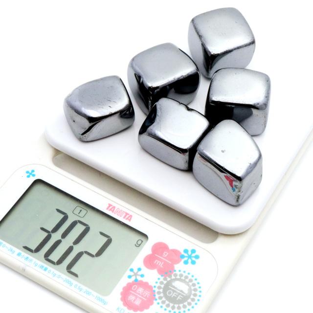 テラヘルツ鉱石 さざれ石 サイズ大 300g 高純度 ポリッシュ研磨 パワーストーン