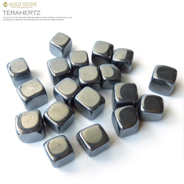 高品質 テラヘルツ鉱石さざれ タンブル サイズ中 ポリッシュ研磨済み 150g パワーストーン