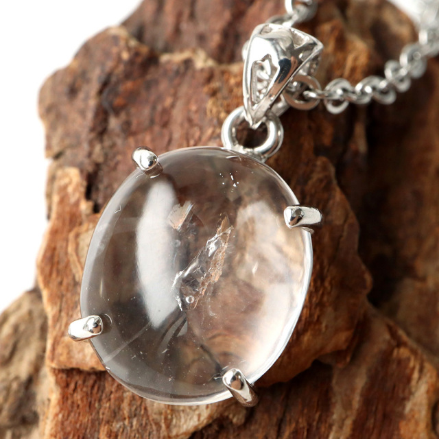 水入り水晶 ペンダント Silver1019 最古の水を閉じ込めた水晶 パワーストーン 天然石