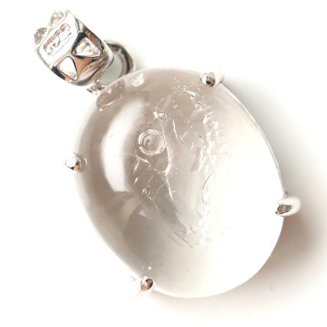 水入り水晶 ペンダント Silver1085 最古の水を閉じ込めた水晶 パワーストーン 天然石
